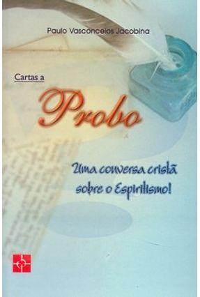 Edição antiga - Cartas a Probo - Jacobina,Paulo Vasconcelos   Nisrs.org