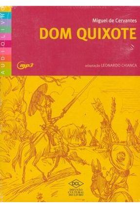 Dom Quixote - Audiolivro - Cervantes,Miguel de   Hoshan.org