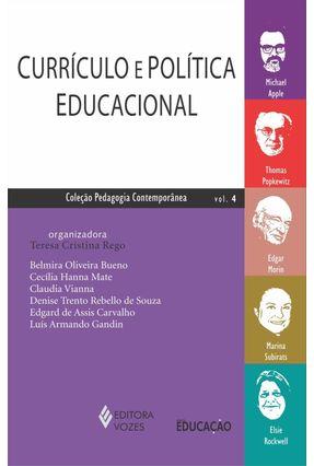 Currículo E Política Educacional - Rego,Teresa Cristina | Hoshan.org