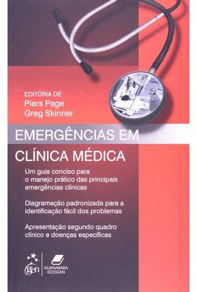 Emergências Em Clínica Médica - Page,Piers | Hoshan.org