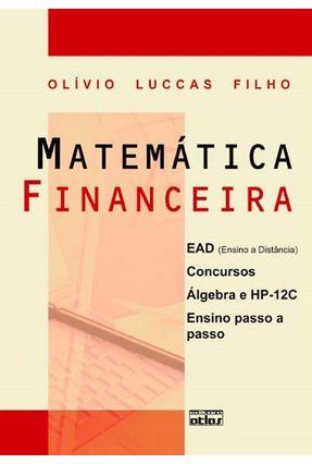 Matemática Financeira - Filho,Olívio Luccas | Hoshan.org