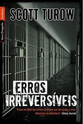 Erros Irreversíveis - Nova Ortografia - Best Bolso - Turow,Scott pdf epub