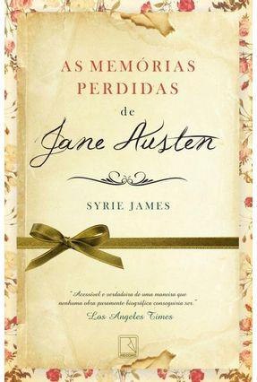 As Memórias Perdidas de Jane Austen - James,Syrie | Hoshan.org