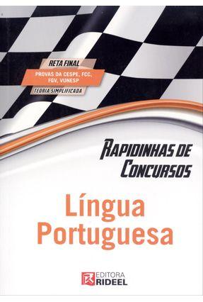 Língua Portuguesa - Série Rapidinhas de Concursos - Coelho,Murilo Oliveira de Castro pdf epub