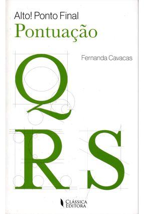 Alto! Ponto Final - Pontuação - Cavacas,Fernanda   Hoshan.org