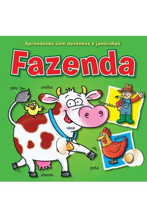 Fazenda - Col. Aprendendo Com Desenhos e Janelinhas - Books,Yoyo | Hoshan.org