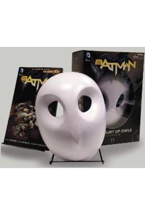 Batman- The Court Of Owls Mask And Book Set - Snyder,Scott | Hoshan.org