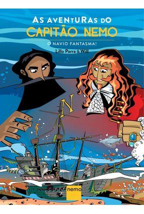 As Aventuras do Capitão Nemo - o Navio Fantasma! - Parra,Lillo   Tagrny.org