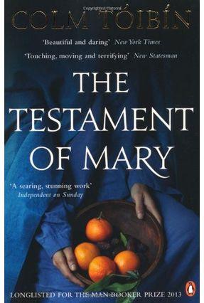 The Testament Of Mary - Tóibín,Colm | Tagrny.org