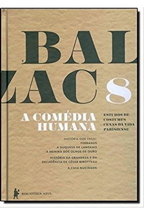 A Comédia Humana - Vol. 8 - Balzac,Honoré de   Hoshan.org