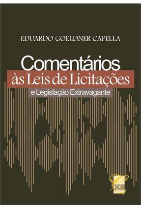 Usado - Comentários Às Leis de Licitações e Legislação Extravagante - 2ª Ed. 2014