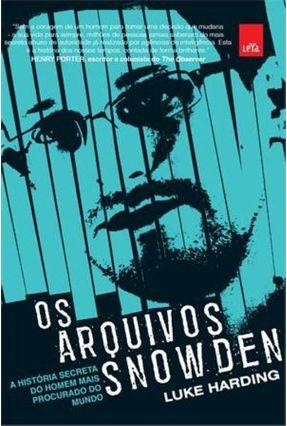 Os Arquivos Snowden - Harding,Luke pdf epub