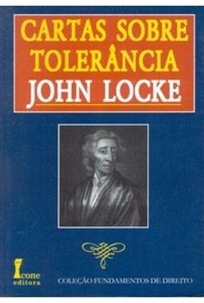 Cartas Sobre Tolerância - Locke,John   Nisrs.org