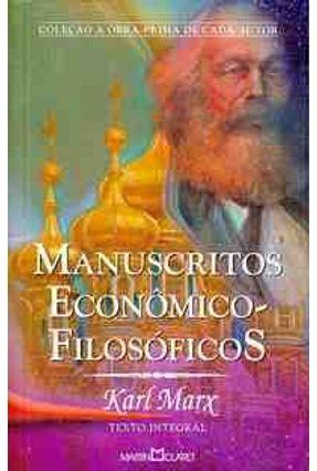 Manuscritos Econômico - Filosóficos - Marx,Karl | Hoshan.org