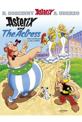 Asterix And The Actress - Uderzo,Albert Goscinny,René   Hoshan.org