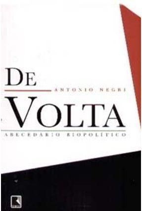 De Volta - Negri,Antonio | Tagrny.org