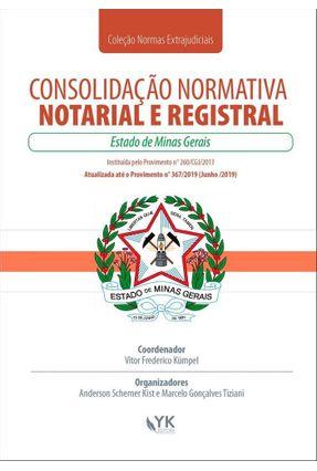 Consolidação Normativa Notarial e Registral - Minas Gerais - Kumpel,Vitor Frederico pdf epub