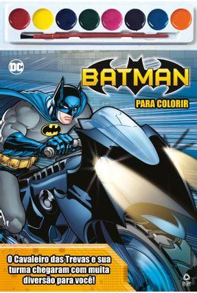 Batman - Para Colorir - On Line Editora pdf epub